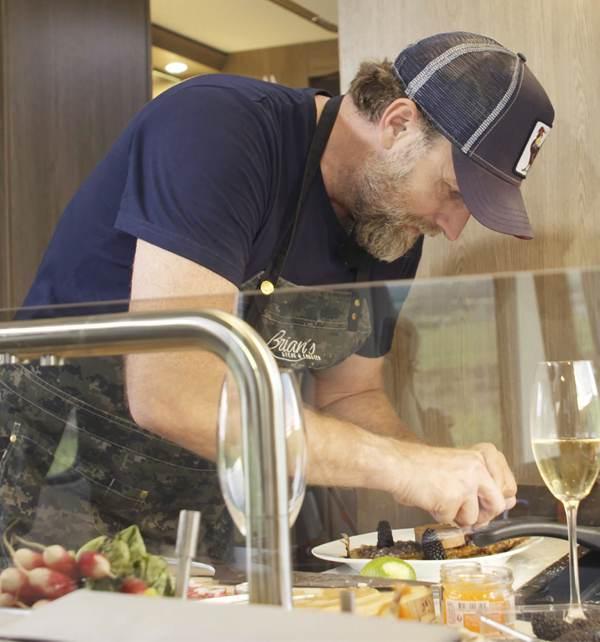 Caravaning & Cooking: Brian auf großer Tour